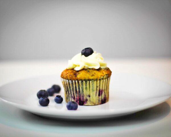 Blueberry Cupcake (10 pcs)