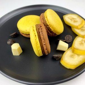 Makaroniki czekoladowo - pomarańczowy